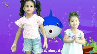 رقصة بيبي شارك |  Baby Shark Dance | Sing and Dance! | Animal Songs | PINKFONG Songs for |Baby Shark